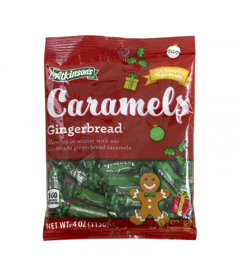 Atkinson's Caramels Gingerbread - 4oz (113g) [Christmas] Sweets and Candy