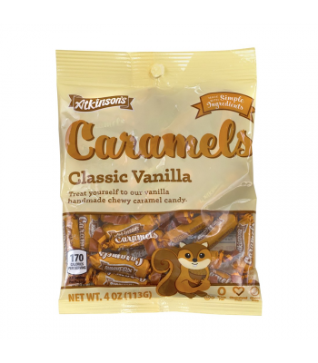 Atkinson's Caramels Vanilla - 4oz (113g) [Christmas] Sweets and Candy