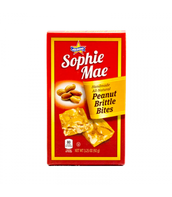 Atkinson's Sophie Mae Peanut Brittle Bites Theatre Box - 3.25oz (92g) Sweets and Candy