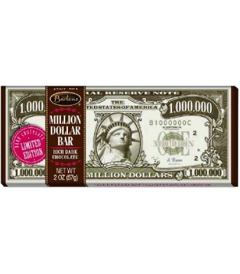 Bartons Dark Chocolate Million Dollar Bar 2oz (57g)
