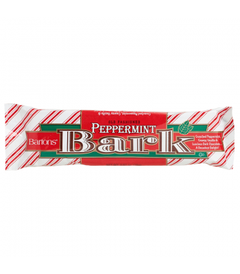 Bartons Peppermint Bark Bar - 2.67oz (76g) Sweets and Candy Bartons