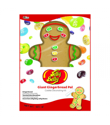 Bee Jelly Belly Gingerbread Xmas Pal - 10.5oz (298g) Cookies and Cakes Jelly Belly