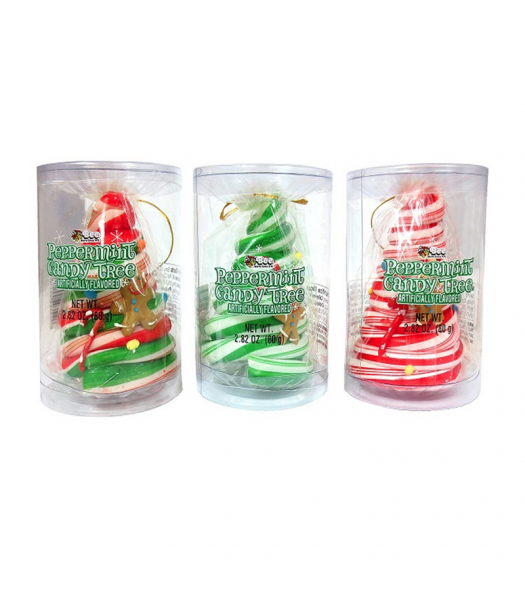 Peppermint Candy Tree Ornament - 2.82oz (80g) [Christmas] Sweets and Candy