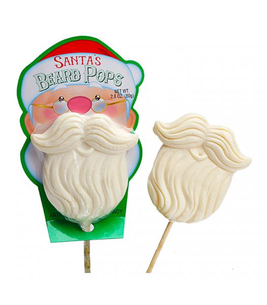 Santa's Beard Pops - 2.8oz (80g) [Christmas] Lollipops