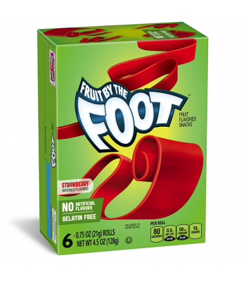 Betty Crocker Fruit By The Foot Strawberry - 4.5oz (128g)