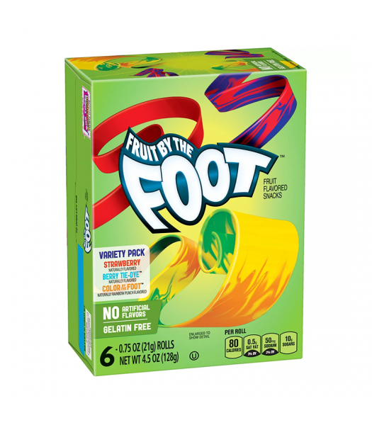 Betty Crocker Fruit By The Foot Variety - 4.5oz (128g) Sweets and Candy Betty Crocker