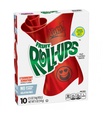 Betty Crocker Fruit Roll-ups Strawberry Sensation - 5oz (141g)