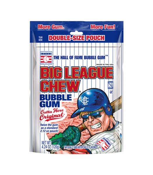 Big League Chew Original Gum - 4.24oz (120g) Sweets and Candy Big League Chew