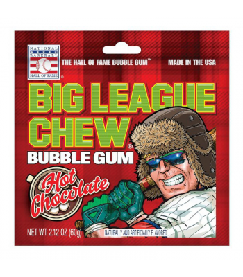 Big League Chew Hot Chocolate - 2.12oz (60g) Sweets and Candy Big League Chew
