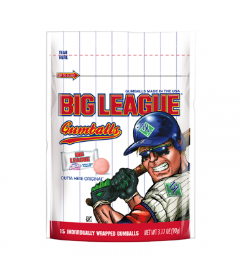 Big League Gum - Original Gumballs - 3.17oz (90g) Sweets and Candy Big League Chew