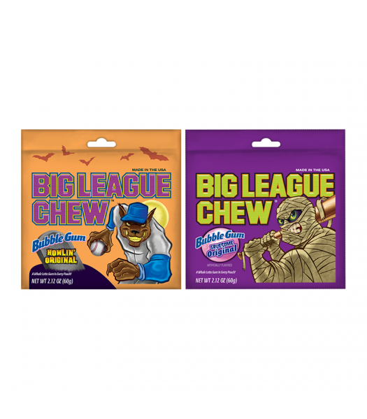 Clearance Special - Halloween Big League Chew - 2.12oz (60g) **Best Before: 30 June 19** Clearance Zone
