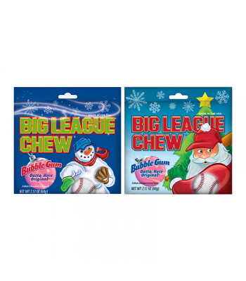 Clearance Special - Big League Chew - 2.12oz (60g) [Christmas] **Best Before: 4 August 20** Clearance Zone