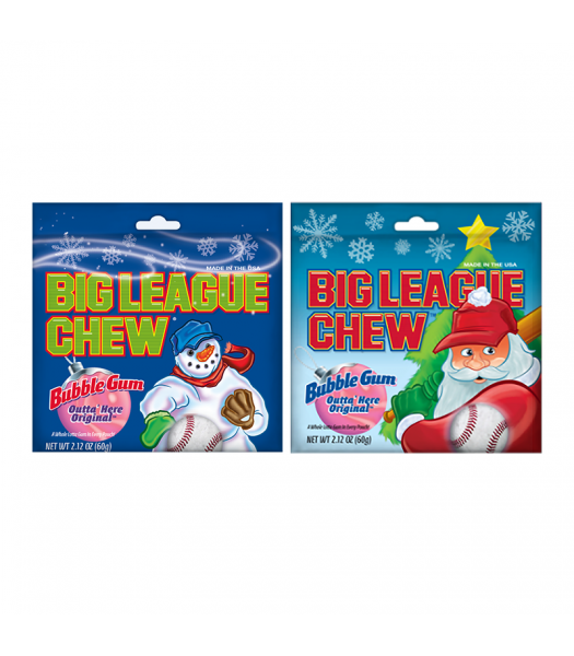 Clearance Special - Big League Chew - 2.12oz (60g) **Christmas** Clearance Zone