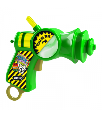 Brain Blasterz - Gunk Blaster /w Sour Lolly Pop (26g) Sweets and Candy Brain Blasterz
