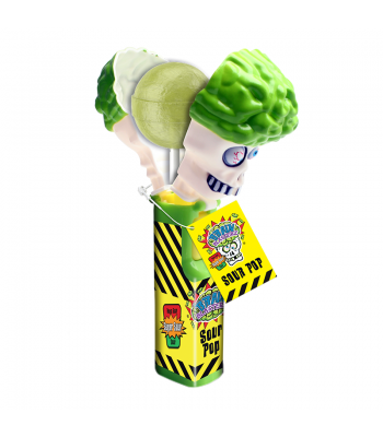 Brain Blasterz - Sour Apple Brain Pop (10g) Sweets and Candy Brain Blasterz