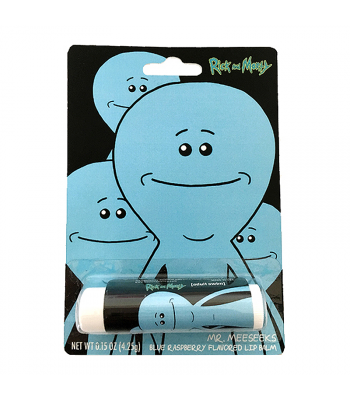 Rick & Morty Mr. Meeseeks Lip Balm 0.15oz (4.25g) Novelty Candy Boston America