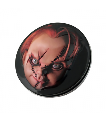 Chucky Childsplay Sour Cherry Knives Candy Tin - 1.2oz (34g) Sweets and Candy Boston America
