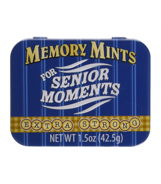 Memory Mints  - 1.5oz (42.5g) Sweets and Candy Boston America