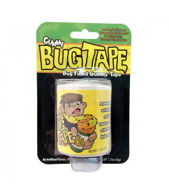 Bug Tape - Candy Bug Filled Gummy Tape 1.27oz Sweets and Candy