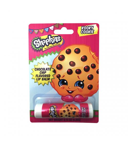 Shopkins Kooky Cookie Lip Balm - 0.15oz (4.25g) Novelty Candy Boston America