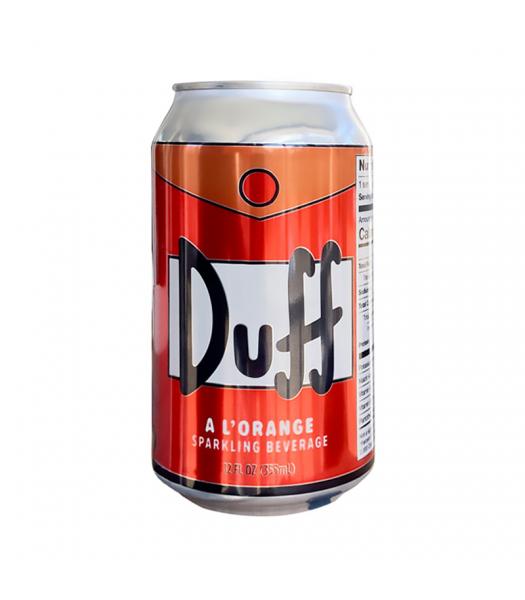 Duff A L'Orange Soda - The Simpsons - 12fl.oz (355ml) Regular Soda Boston America