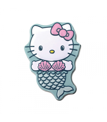Hello Kitty Mermaid Shell Sours Candy Tin - 1oz (28g) Sweets and Candy Boston America
