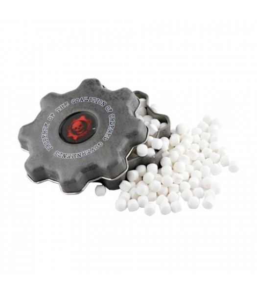 Gears Of War COG Tag Mints 1.2oz (34g) Sweets and Candy