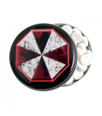 Resident Evil Umbrella Corp Zombie Outbreak Mints 0.6oz (17g) Sweets and Candy