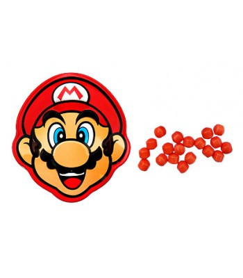 Mario Brick Breaking Candy Tin - 0.6oz (17g) Sweets and Candy Boston America