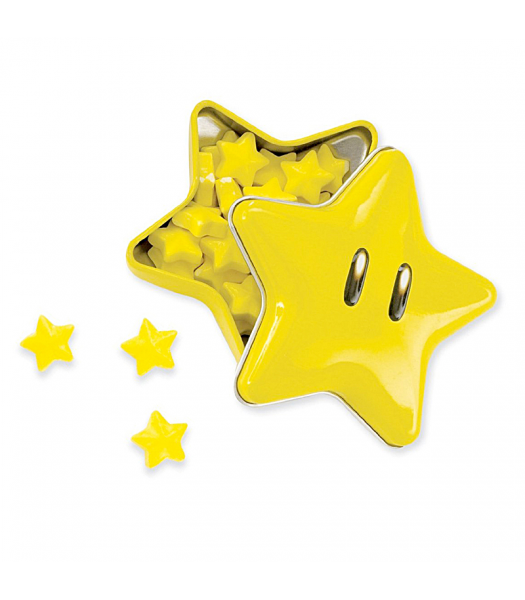 Nintendo Super Star Tinned Candies  Hard Candy