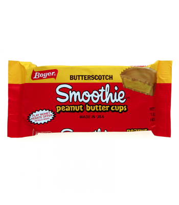 Boyer Butterscotch Smoothie Peanut Butter Cups 1.6oz (45.3g) Chocolate, Bars & Treats