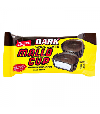 Boyer Dark Chocolate Mallo Cup 1.5oz (42.5g) Chocolate, Bars & Treats