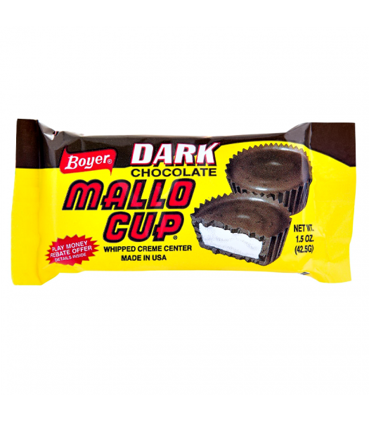 Boyer Dark Chocolate Mallo Cup 1.5oz (42.5g) Sweets and Candy