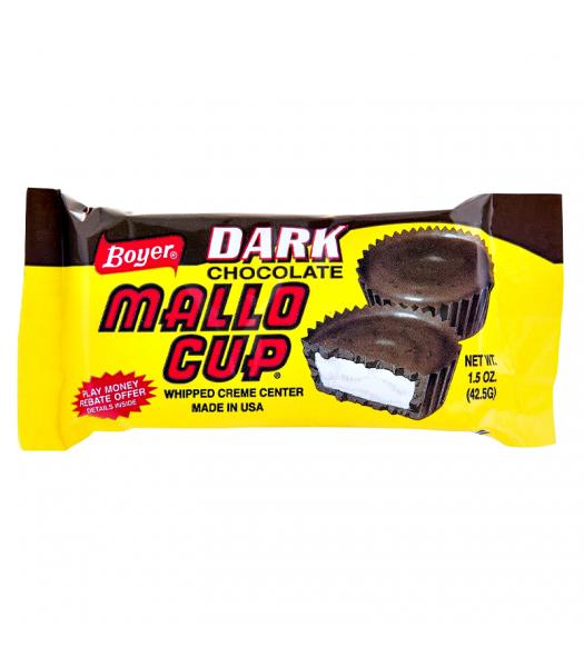 Boyer Dark Chocolate Mallo Cup 1.5oz (42.5g) Chocolate, Bars & Treats
