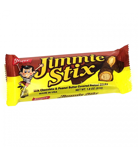 Boyer Jimmie Stix 1.8oz (51g) Chocolate, Bars & Treats