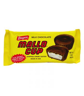 Boyer Milk Chocolate Mallo Cup 1.5oz (42g) Chocolate, Bars & Treats