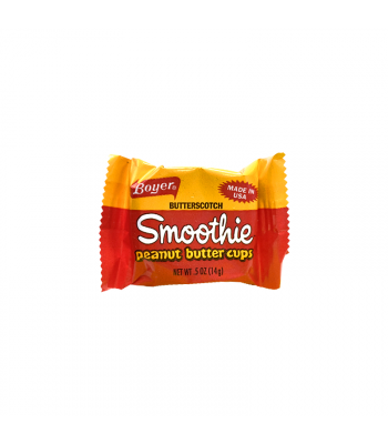 Boyer Butterscotch Smoothie Peanut Butter Cup - 0.5oz (14g) Sweets and Candy