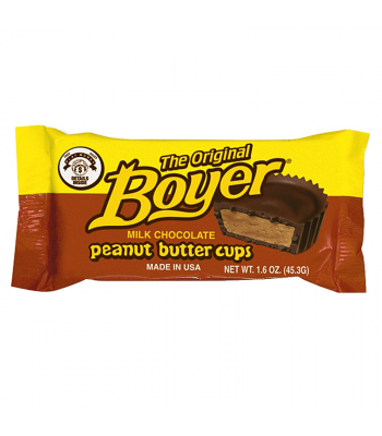 Boyer Original Peanut Butter Cups 1.6oz (45.3g) Sweets and Candy