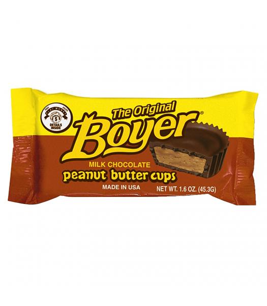 Boyer Original Peanut Butter Cups 1.6oz (45.3g) Chocolate, Bars & Treats