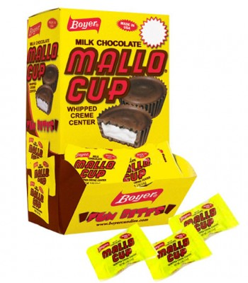 Clearance Special - Boyer Mallo Peanut Butter Cup Bite Size 60 CT **Best Before: 14 October 17** Clearance Zone