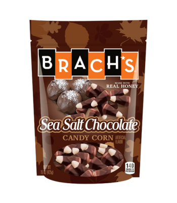 Clearance Special - Brach's Sea Salt Chocolate Candy Corn 15oz (425g) **Best Before: 11 June 18** Clearance Zone