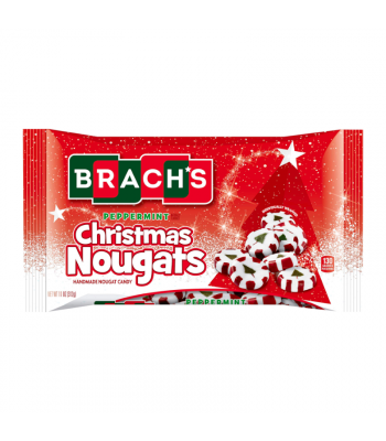Brach's Christmas Peppermint Nougat - 11oz (312g) Sweets and Candy Brach's
