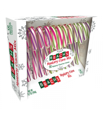 Brachs Mystery Candy Cane Mix - 5.7oz (162g) [Christmas] Sweets and Candy Brach's