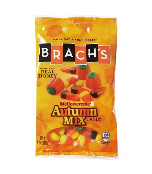 Brach's - Mellowcreme Autumn Mix - 4.2oz (119g) Soft Candy Brach's