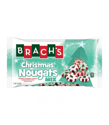 Brach's Christmas Nougats Mix - 10oz (283g) Sweets and Candy Brach's