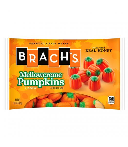 Brach's - Mellowcreme Pumpkins - 11oz (312g) Soft Candy Brach's