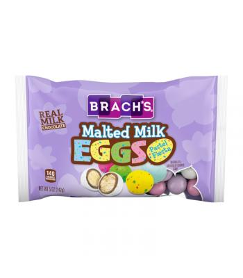 Brach's Pastel Fiesta Malted Milk Eggs - 5oz (142g Sweets and Candy Brach's