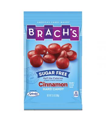 Brach's Sugar Free Cinnamon Hard Candy Discs 3.5oz (99g) Sugar Free Brach's