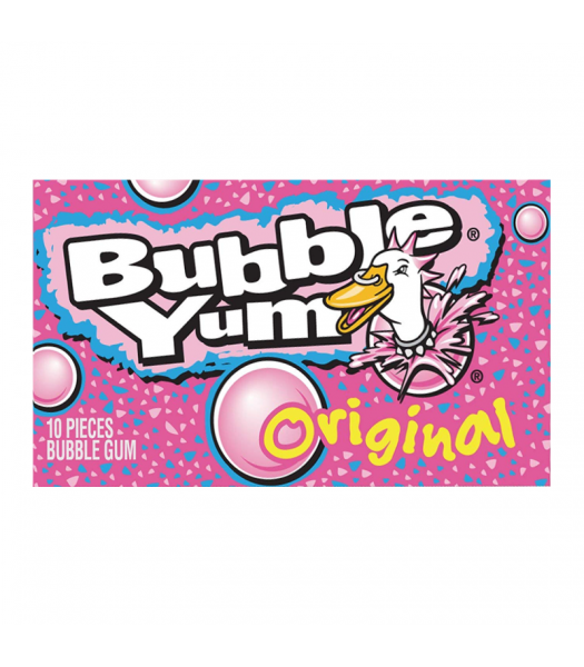 Bubble Yum Original Gum 10-Piece - 2.8oz (79g) Sweets and Candy Bubble Yum