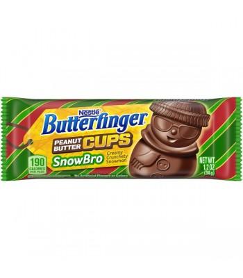 Butterfinger Christmas Snowbro 1.2oz (34g) Chocolate, Bars & Treats Butterfinger